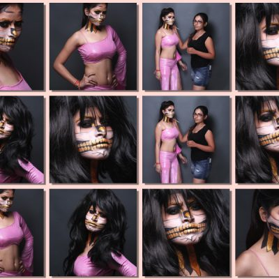 Learn Ghost Face Painting Makeup Course In Mumbai